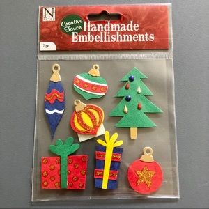 Christmas Tree Presents Scrapbook Stickers NWT